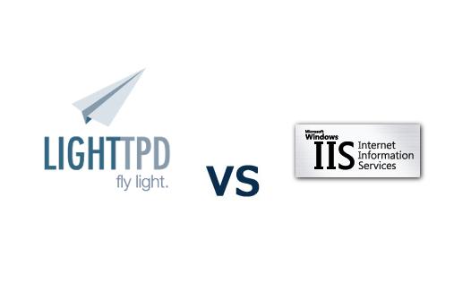 lighttpd vs IIS